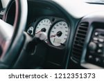 close up of the car dashboard | Shutterstock . vector #1212351373
