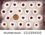 Linzer Christmas Cookies With...