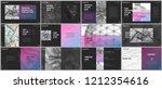 minimal presentations design ... | Shutterstock .eps vector #1212354616