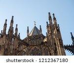 prague  czech republic  ... | Shutterstock . vector #1212367180