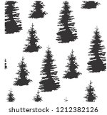 vector illustration pattern... | Shutterstock .eps vector #1212382126