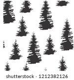 vector illustration pattern... | Shutterstock .eps vector #1212382126