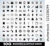 mega business icon set | Shutterstock .eps vector #121238299