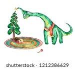 diplodocus dino dinosaurs...   Shutterstock . vector #1212386629