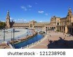 """plaza de espa        a""...   Shutterstock . vector #121238908"