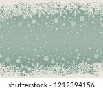 abstract christmas background... | Shutterstock .eps vector #1212394156