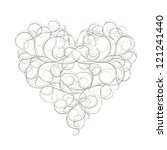 Abstract Heart Shape For Your...