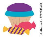 sweet cupcake design | Shutterstock .eps vector #1212431620