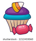 sweet cupcake design | Shutterstock .eps vector #1212433060