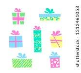vector illustration  colorful... | Shutterstock .eps vector #1212461053