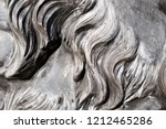 grey wavy granite lion mane... | Shutterstock . vector #1212465286