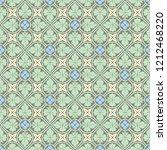 decorative seamless vector...   Shutterstock .eps vector #1212468220