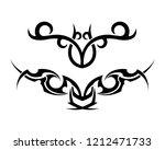 vector triball and design... | Shutterstock .eps vector #1212471733
