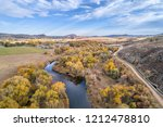 cache la poudre river and water ... | Shutterstock . vector #1212478810