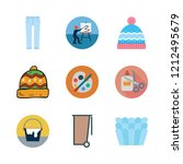 material icon set. vector set...