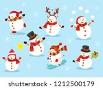 cute snowman collection