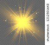 bright beautiful star. light... | Shutterstock .eps vector #1212501643
