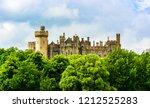 Arundel  Uk  Panoramic View Of...