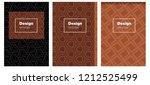 dark orange vector layout for...