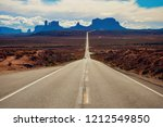 monument valley utah | Shutterstock . vector #1212549850
