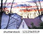 closeup of roofs  roof ...   Shutterstock . vector #1212565519