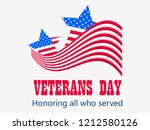 happy veterans day 11th of... | Shutterstock .eps vector #1212580126
