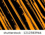 black and yellow background.... | Shutterstock . vector #1212583966