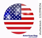 bright background with flag of... | Shutterstock .eps vector #1212598156