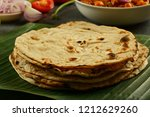 homemade delicious indian meal  ... | Shutterstock . vector #1212629260