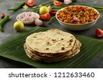 delicious and traditional... | Shutterstock . vector #1212633460