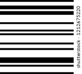 pattern with horizontal black... | Shutterstock .eps vector #1212675220