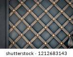 wrought iron gates  ornamental... | Shutterstock . vector #1212683143
