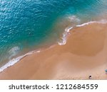 aerial view of beach tropical  | Shutterstock . vector #1212684559