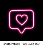 pink neon like icon instagram...