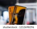 riga  october 2018   recently... | Shutterstock . vector #1212698296