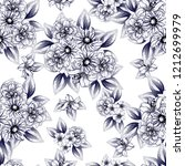 abstract seamless pattern with... | Shutterstock . vector #1212699979
