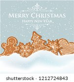 Beautiful Christmas Card With...