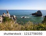 beautiful nature sea landscape. ...   Shutterstock . vector #1212758350