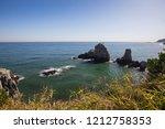 beautiful nature sea landscape. ...   Shutterstock . vector #1212758353