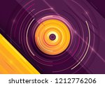 abstraction with colorful... | Shutterstock .eps vector #1212776206