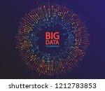 big data visualization concept... | Shutterstock .eps vector #1212783853
