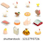 Poultry Production Isometric...