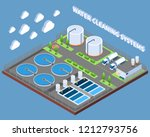 water cleaning systems... | Shutterstock .eps vector #1212793756