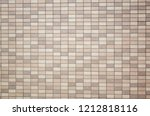 square mosaic background of... | Shutterstock . vector #1212818116