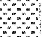 reel tape recorder pattern... | Shutterstock .eps vector #1212831886