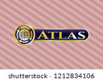 gold shiny badge with...   Shutterstock .eps vector #1212834106