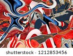 abstract composition. surreal... | Shutterstock . vector #1212853456