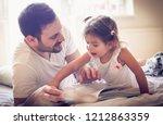 it s the calmest and quiet part ... | Shutterstock . vector #1212863359
