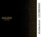 golden confetti background ... | Shutterstock . vector #1212883060
