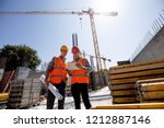 civil architect  and... | Shutterstock . vector #1212887146